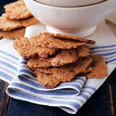 Flax Seed Cracker Bread Image
