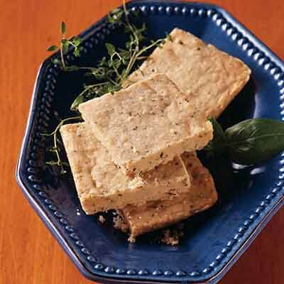 Melt-In-Your-Mouth Herbed Shortbread Image