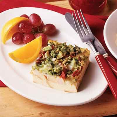 Turkey Divan Breakfast Strata Image