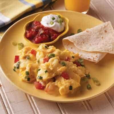 Mexican Sunrise Scrambled Eggs