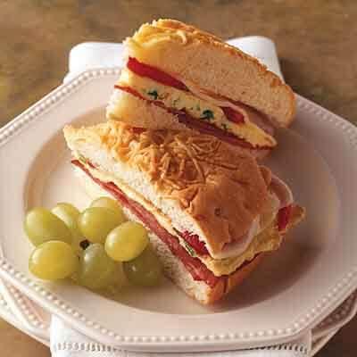 Italian Omelet Sandwich Image