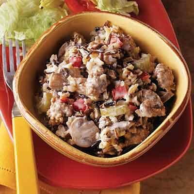 Sausage & Wild Rice Bake Image