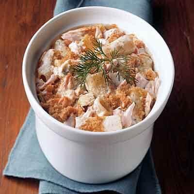 Creamy Salmon Rigatoni Image