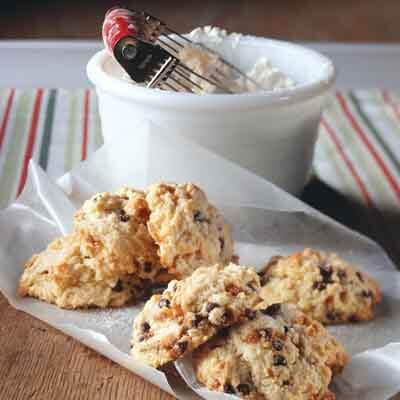Chocolate Toffee Brunch Biscuits Image