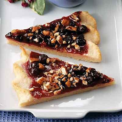 Blueberry Dessert Pizza Recipe