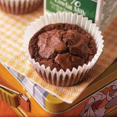 Mint Brownie Cups Image