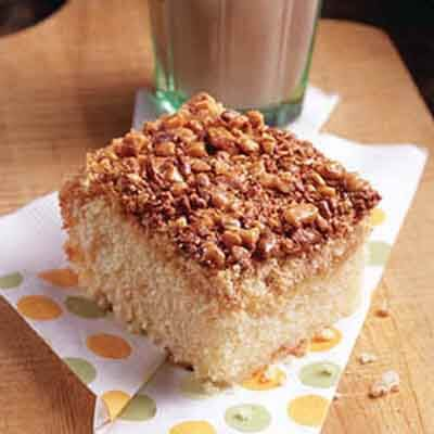 Crazy Toffee Snack Cake Image