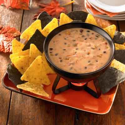 Spooky Hot Cheese Dip Image
