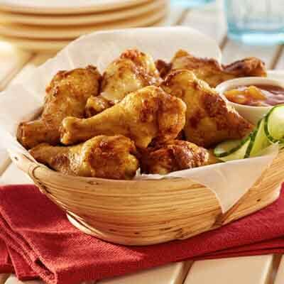 Indian-Spiced Chicken Wings Image