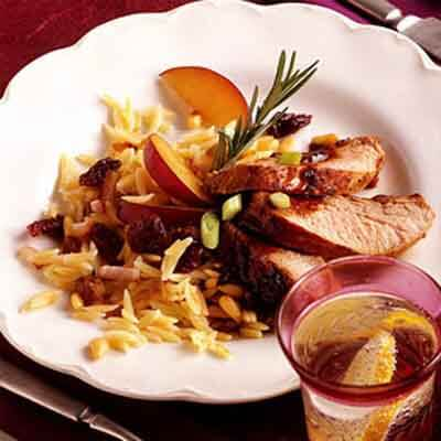 Pork Tenderloin With Plum Balsamic Glaze Recipe Land O Lakes