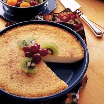 Magic Coconut Custard Pie Image
