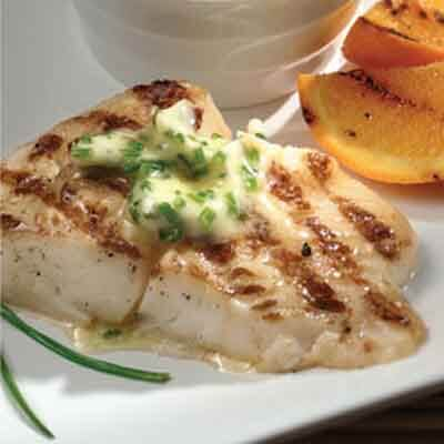 Halibut With Wasabi Butter Image