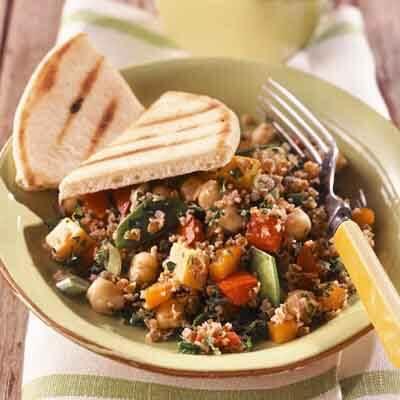 Tabbouleh Bean & Cheddar Salad Image