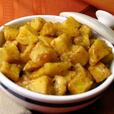 Orange Glazed Sweet Potatoes Image