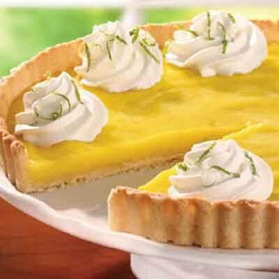 Refreshing Lime Tart Image