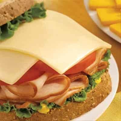 Deli Cheese & Turkey Sandwich Image