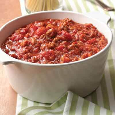 Slow-Cooked Smoky Spaghetti Sauce Image