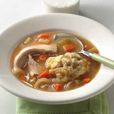 Slow Cooker Turkey & Dumplings Image
