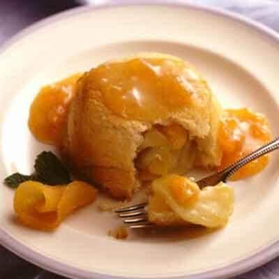 Apricot & Apple Charlottes