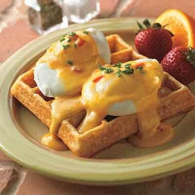 Southwestern Waffle Benedict Image