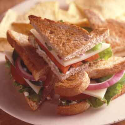 Toasted Chipotle & Cheese Sandwiches Image