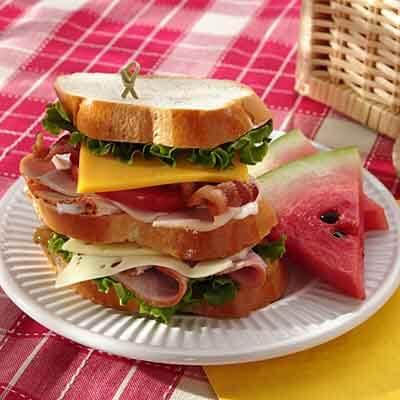 Picnic Club Sandwich Image