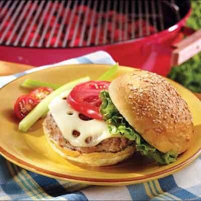 Sage Turkey Burgers Image