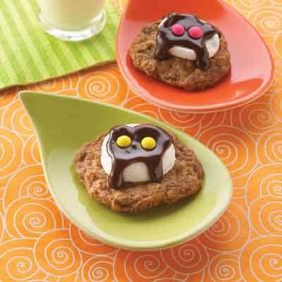 Chocolate Mashmallow Ghost Cookie Recipes