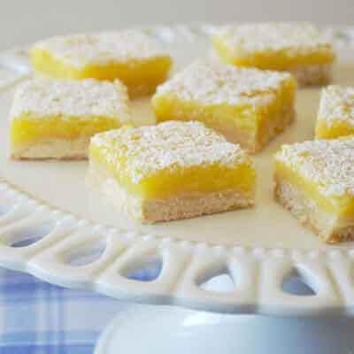 Easy Lemon Bars Image