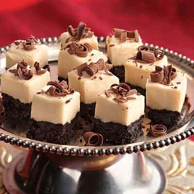 Irish Cream Mousse Bites Image