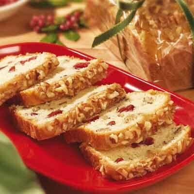 Cranberry Praline Quick Bread Image