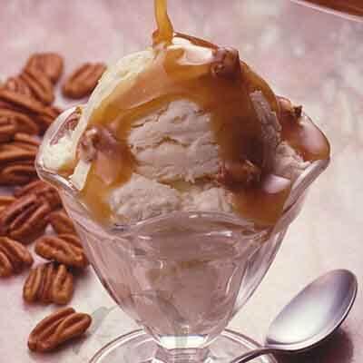 Rich Vanilla Ice Cream Image