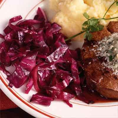 Warm Red Cabbage Salad Image