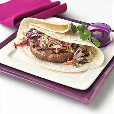 Oriental Turkey Burgers Image