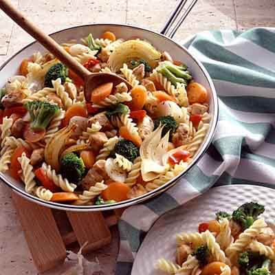 Chicken Vegetable Pasta Recipe Land O Lakes
