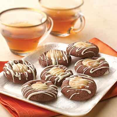 Chocolate Thumbprints Image
