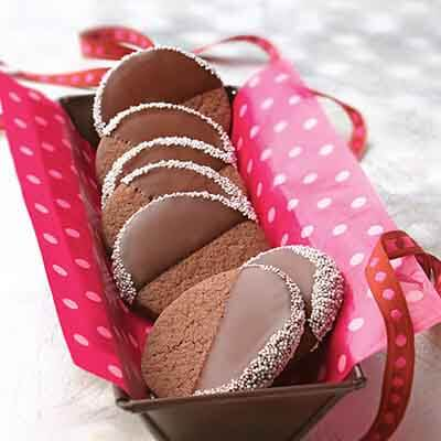Chocolate-Dipped Cut-Outs Image