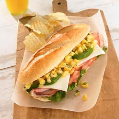 Caribbean Ham & Pineapple Sandwich Image