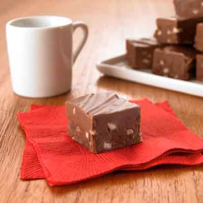 Dark Chocolate Almond Fudge Image