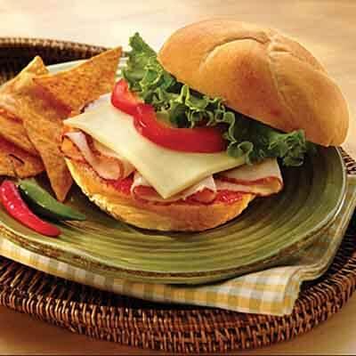Pepper Jelly Turkey Sandwich Image
