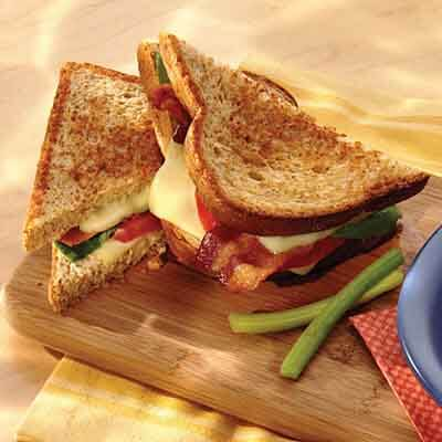 Bacon & Tomato Grilled Cheese Image