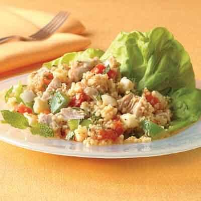 Apricot Couscous Chicken Salad Image