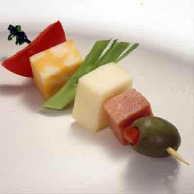 Cheese & Veggie Kabobs Image