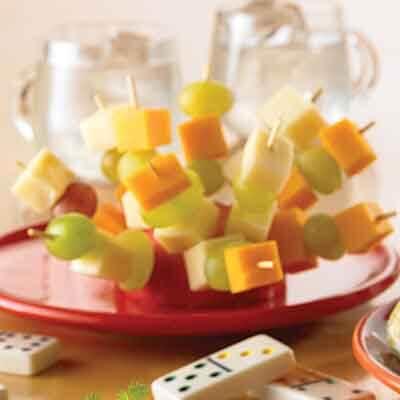 Fruit & Cheese Kabobs Image