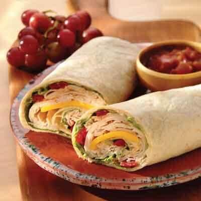 Salsa & Turkey Wrap Image