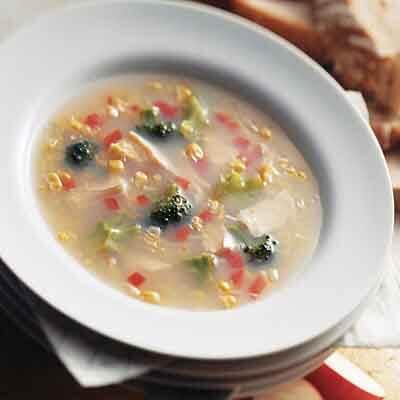 Easy Turkey Vegetable Soup Image