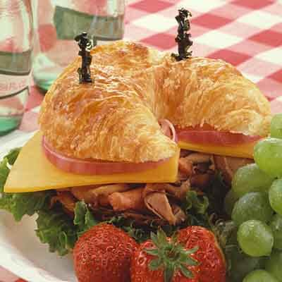 Beef & Cheese Croissant Image