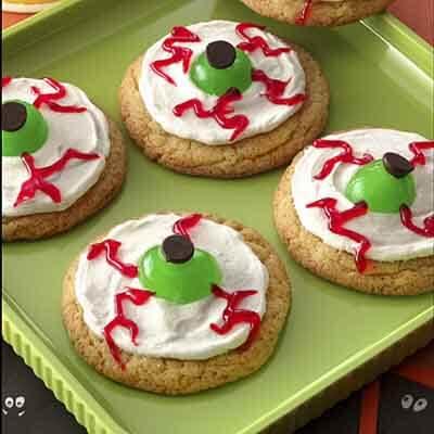 Halloween Eyeball Cookies Recipe