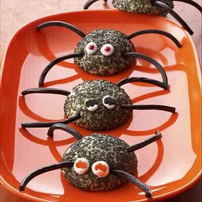 Gluten-Free Spider Halloween Cookies Recipe