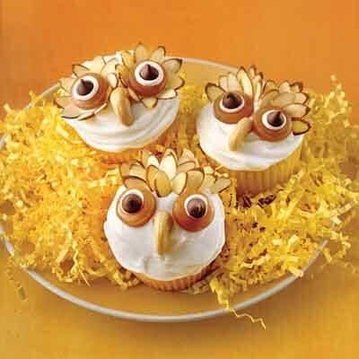 Owl Halloween Cupcakes Recipe